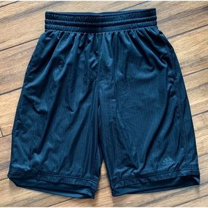 Adidas Athletic Shorts Black Large